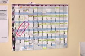 Compensation Committee Calendar